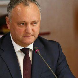 Демократическая партия Молдовы потребовала отставки президента страны Игоря Додона