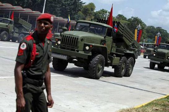 военный парад Венесуэлы 2012 год