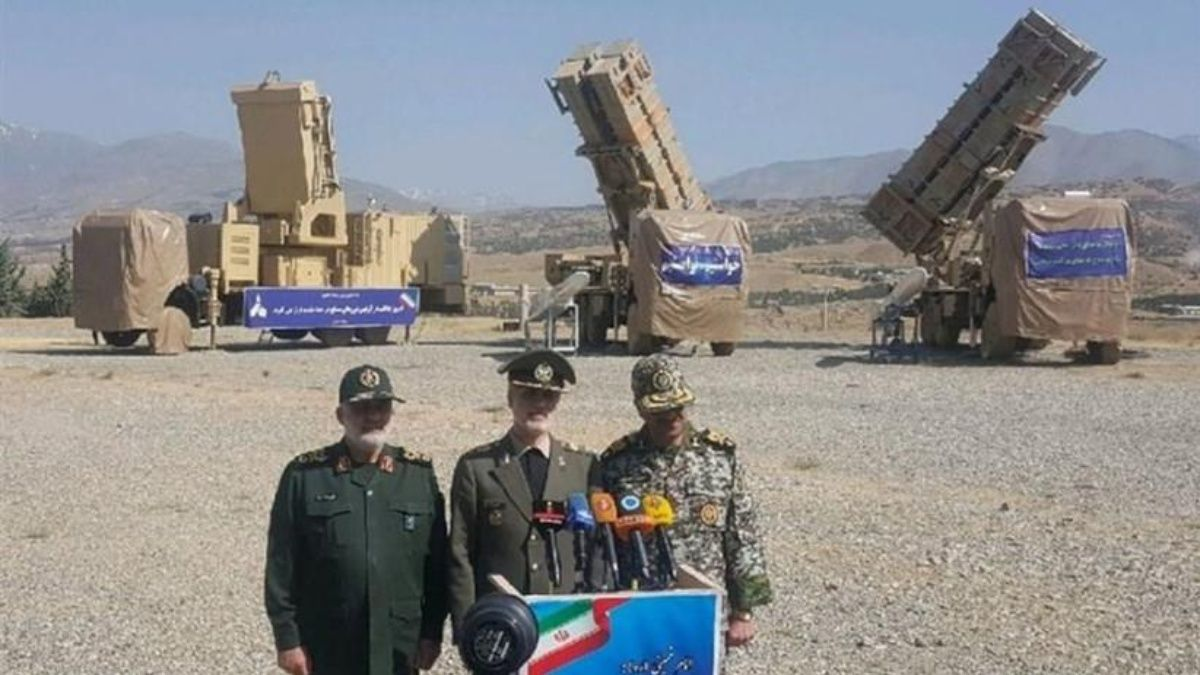 новые системы ПВО Ирана «Хордад-15»