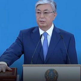 Касым-Жомарт Токаев вступил в должность президента Казахстана