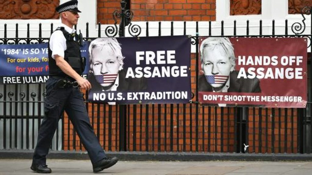 экстрадиция Ассанжа в США