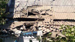 Террористы Украины подвергли очередному обстрелу н.п. Александровка