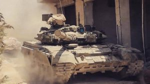 Видео: Силы Тигра опубликовали кадры работы танка Т-90 в провинции Хама