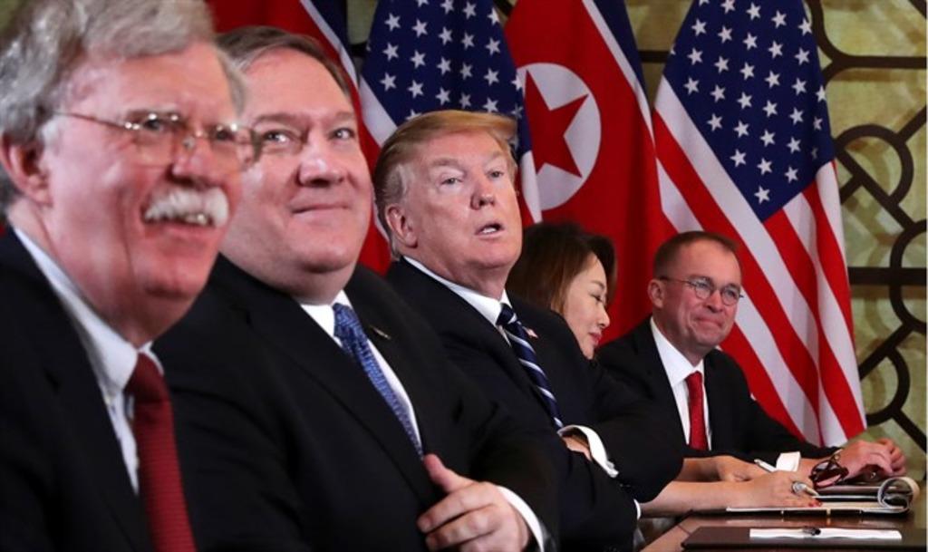 совещание в США - Болтон, Помпео, Трамп