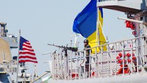 Военный корабль США прибыл на Украину