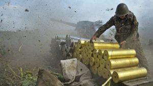 Запад Донецка вновь обстрелян террористами ВСУ