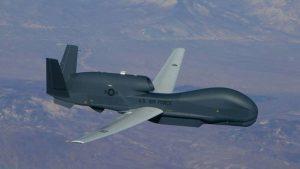 беспилотник-шпион США Global Hawk