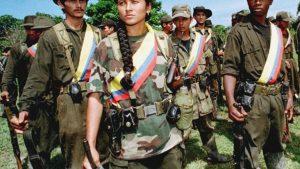бойцы farc, колумбия