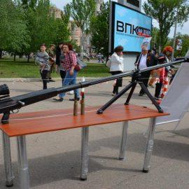 Видео: в ЛНР показали боевое применение  крупнокалиберной снайперской винтовки «Сепаратист»