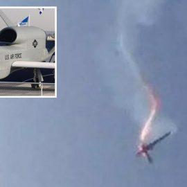 Пентагон опубликовал изображение сбитого Ираном беспилотника