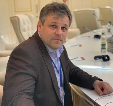 Родион Мирошник, официальный представитель ЛНР в политической рабочей подгруппе Контактной группы на Минских переговорах