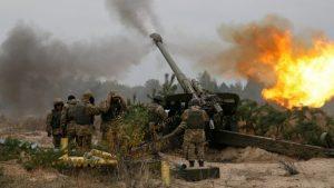 Позиции боевиков ВСУ разбиты бронебойными снарядами защитников Донбасса