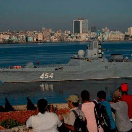 На Кубе пришвартовался российский корабль с «Калибрами» на борту