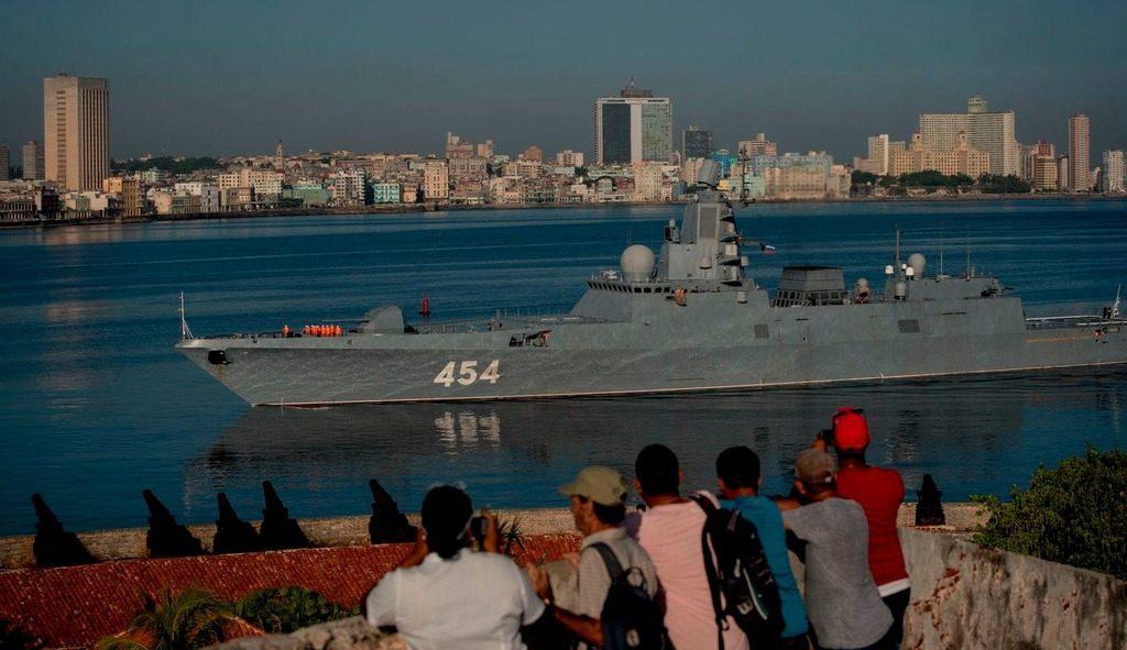 """Фрегат РФ """"Адмирал Горшков"""" в Гаване"""