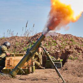 Окраины Донецка вновь оказались под огнём боевиков ВСУ