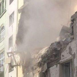 В центре Вены прогремел сильный взрыв. 12 человек ранены