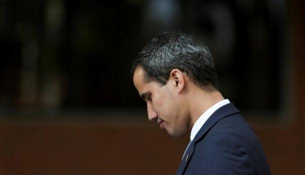 венесуэльский оппозиционер Хуан Гуайдо