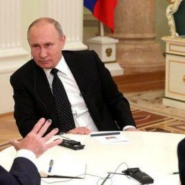 Нашумевшее интервью Путина газете Financial Times