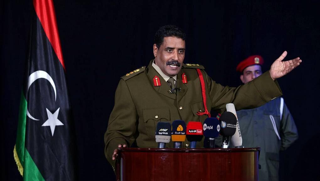 Пресс-секретарь Ливийской народной армии Ахмет Аль-Мисмари