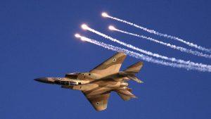ВВС Израиля нанесли очередной удар по территории Сирии