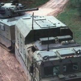 Корпорация УВЗ представила 120-мм арктическую САУ «Магнолия»