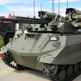 Россия получила первую заявку на экспорт боевого робота «Уран-9»