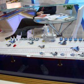 Работы по созданию новейшего российского авианосца начнутся в 2023 году