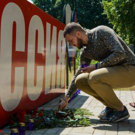Дончане выразили почтение памяти погибших российских подводников