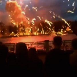 Во время салюта в Минске прогремели взрывы. Один человек погиб