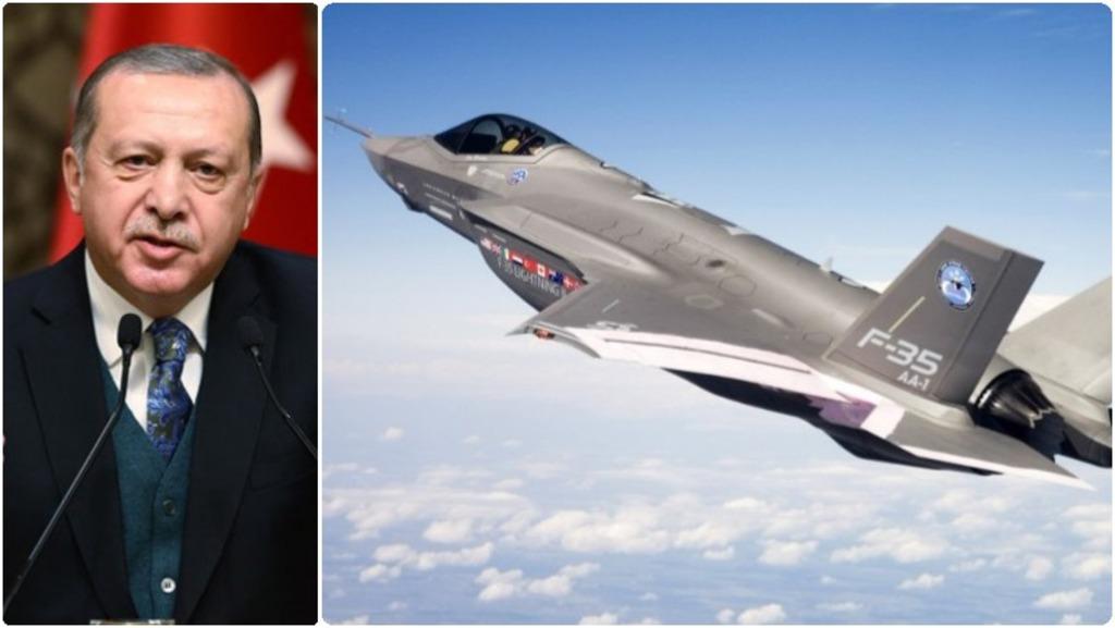 Реджеп Эрдоган, истребители F-35