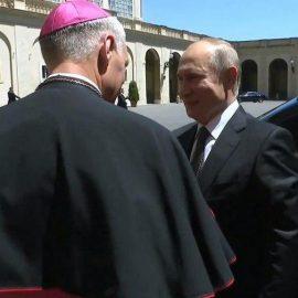 В Ватикане проходит встреча Путина и Папы Римского — [видео]