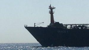 иранский нефтяной супертанкер захвачен британскими морпехами у Гибралтара