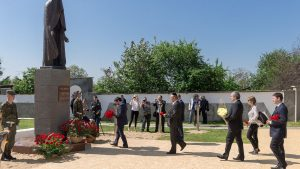 Жители Дубоссар отдали дань памяти землякам, погибшим при обстреле 1992-го
