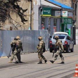 В Одессе задержан мужчина, захвативший заложников — [видео]