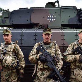 Германия не будет отправлять войска в Сирию