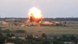 Видео: Змей Горыныч поразил позиции ВСУ
