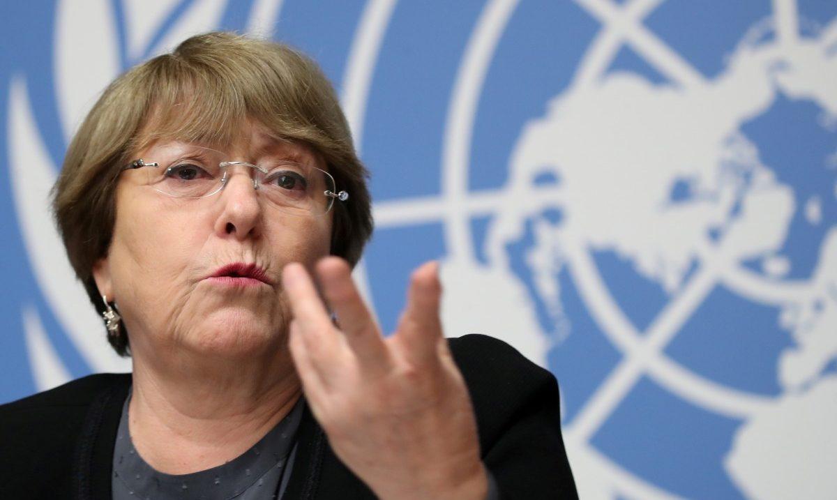 экс-президент Чили и ныне верховный комиссар ООН по правам человека Мишель Бачелет