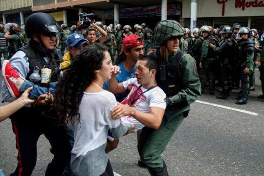 протесты в Венесуэле 2015 год