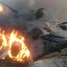 ВСУ потеряли БТР-70 и два грузовика в ДНР