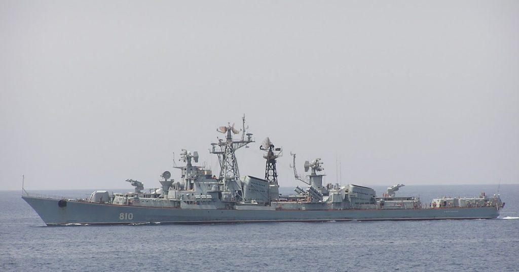 Корабль ВМФ России «подсмотрел» за течением учений «Sea Breeze-2019»