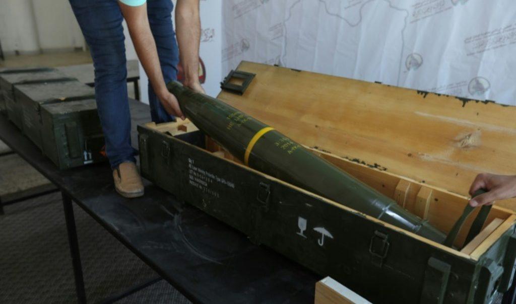 найденные в лагере сторонников Хафтара в Ливии французские ракеты Javelin