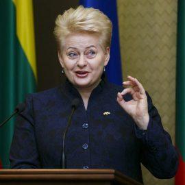 Под занавес: Грибаускайте просит сделать Литву «разносчиком» ценностей Запада