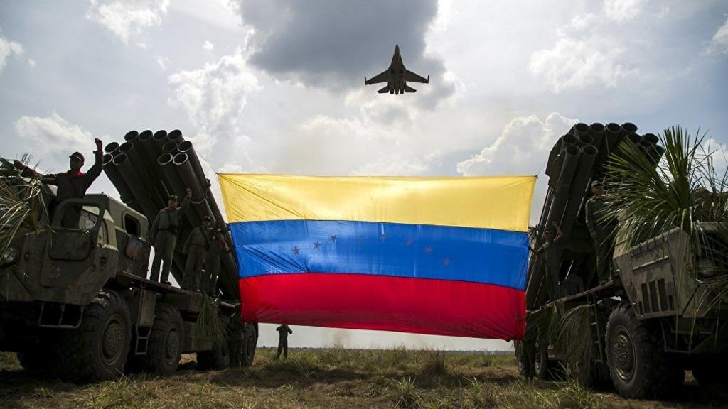 """гражданско-военные учения """"Двухсотлетие Ангостуры 2019"""" в Венесуэле"""