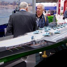 В Санкт-Петербурге показан проект нового атомного авианосца «Ламантин»