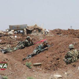 Сирийская армия контратакует на севере провинции Хама