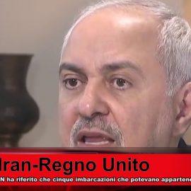 L'Iran nega le affermazioni da parte britannica