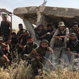 Сирийская армия отбила селение Хаммият на севере провинции Хама