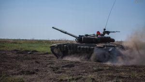 Донбасс. Оперативная лента военных событий 13.07.2019