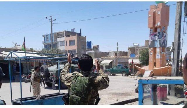 атака талибов на отель и штаб полиции в афганском городе Кала-е-Нау