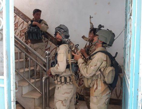 силовики в афганском городе Кала-е-Нау